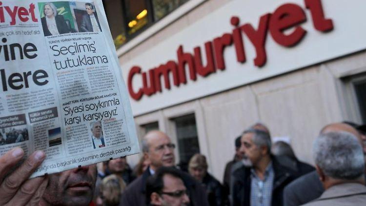 Regierungskritische Zeitung «Cumhuriyet»