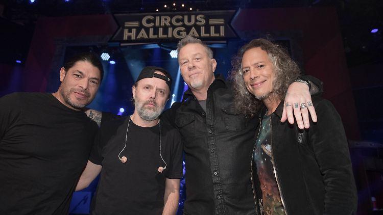 Geheime Show In Berlin Metallica Machen Halligalli N Tvde