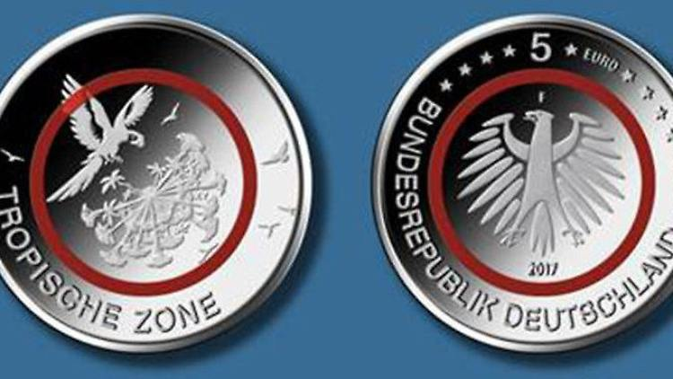 Tropische Zone Kommt 2017 Das Ist Die Neue Fünf Euro Münze N Tvde