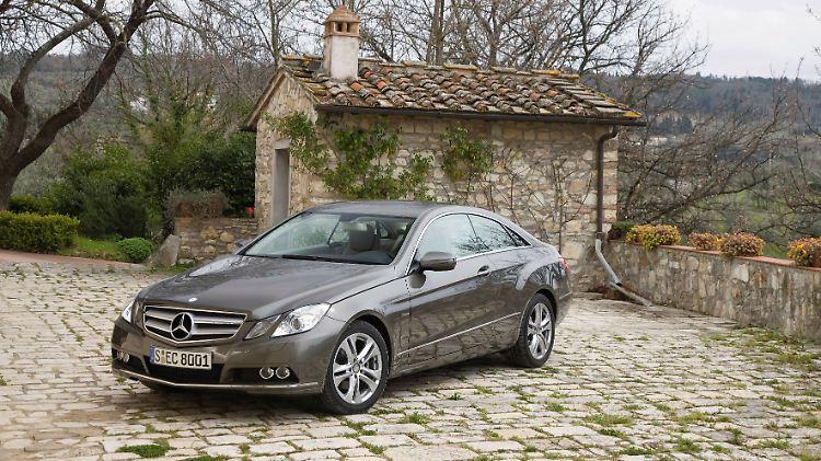Gebrauchter Luxus Mercedes E Klasse Coupe Der Alterslose N Tv De