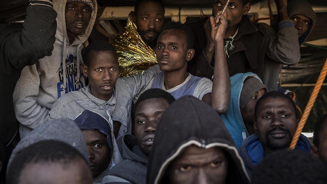 Libyen Sklavenmarkt