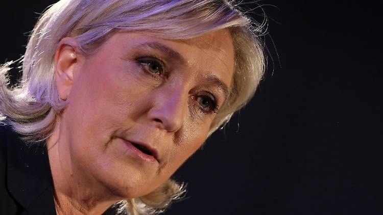 Marine Le Pen, French National Front (FN) political party leader and candidate for the French 2017 presidential election, attends a news conference in Paris, France, Janaury 26, 2017. REUTERS/Jacky Naegelen