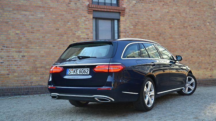 Luxus Laster Im Praxistest E Klasse T Modell Fahrt S Klasse