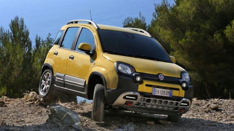Für Die Stadt Und Fürs Gelände Fiat Panda Schlägt Sich Gut N Tvde