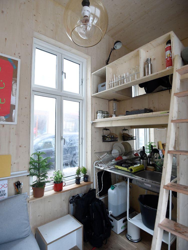 Wohnen Auf Sechs Quadratmetern Berliner Architektenduo Baut Mini
