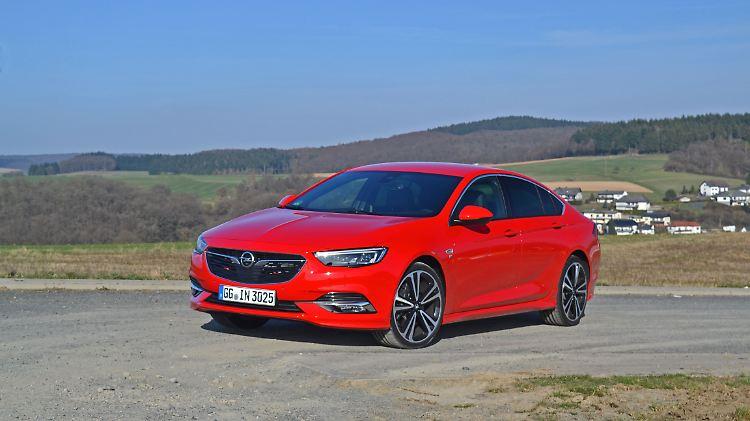 Nicht Nur Mit Der Optik Neuer Opel Insignia Will Die Grossen Argern