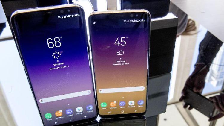 Samsung präsentiert Galaxy S8
