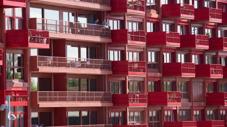 Eigentumswohnungen mit Balkonen