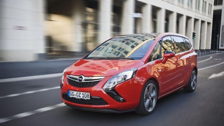 Gebraucht So Gut Wie Mängelfrei Opel Zafira C Ein Flexibler