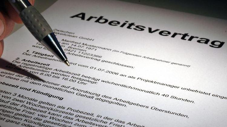 Kündigung In Der Probezeit Minderung Des Arbeitslosengeldes N Tvde