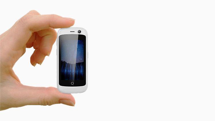 Riesenerfolg Auf Kickstarter Jelly Das Kleinste Lte Smartphone Der