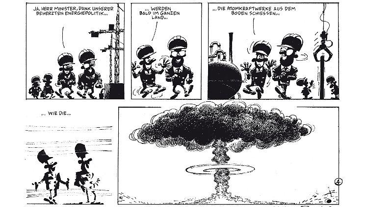 Gaston Beim Gratis Comic Tag Im Buro Ist Der Wahnsinn Los N Tv De