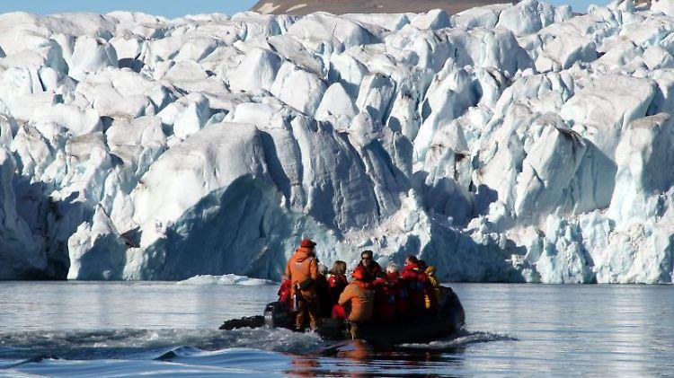 Fahrt zum Polareis in der Croker Bay