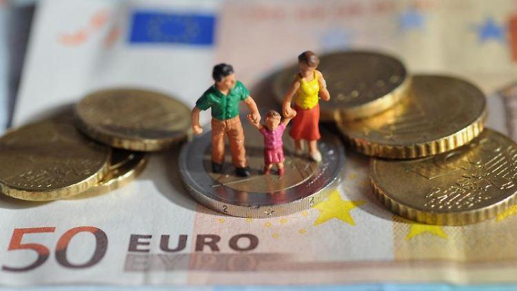 Finanzschwache Familie