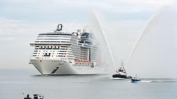 Neue Kreuzfahrtriesen Am Start Msc Meraviglia Und Mein Schiff 6