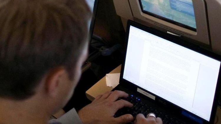 Internet im Flugzeug