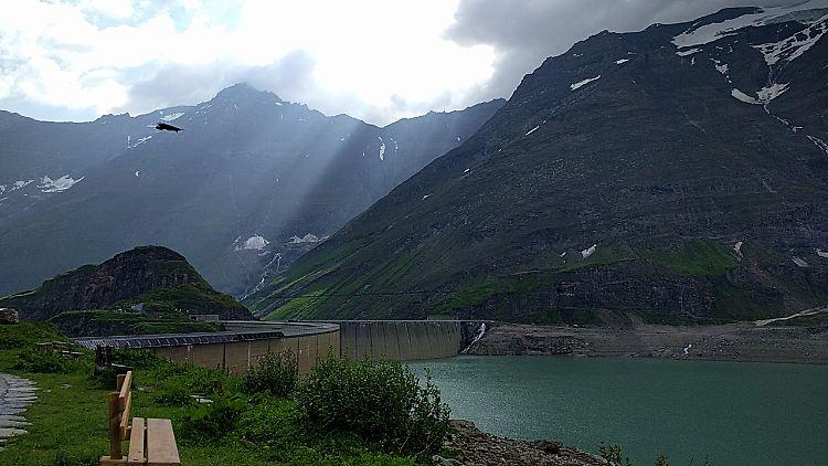 Klettersteig Zell Am See : Klettersteig als grenzerfahrung: herzrasen an der staumauer n tv.de