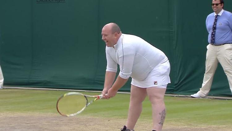 Erst Vorlaut Jetzt Berühmt Der Wahre Held Von Wimbledon N Tvde