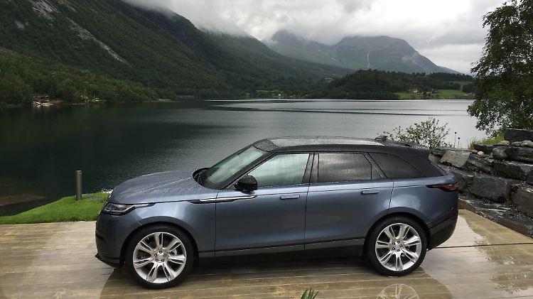 Dynamiker Gegen Die Konkurrenz Range Rover Velar Ein Suv Fur
