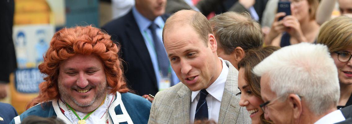 Der Tag Wie Finden Sie Prinz Williams Neue Frisur N Tvde
