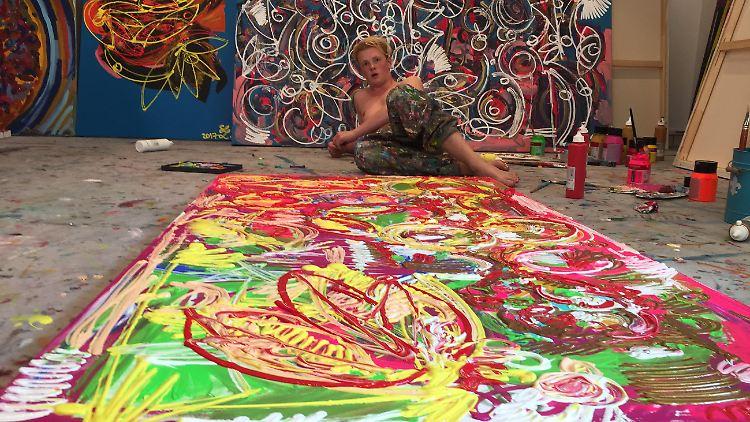 Mit 19 Jahren begeistert Leon Löwentraut die internationale Kunstwelt.