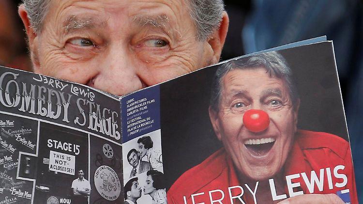 Adieu Verrückter Professor Us Komiker Jerry Lewis Ist Tot N Tvde