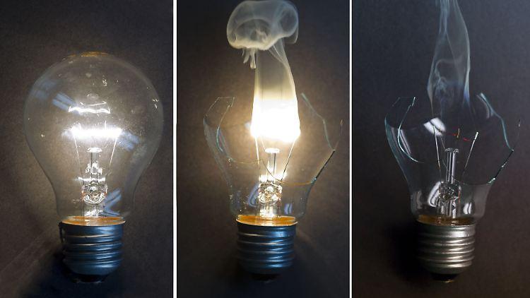 Vor 5 Jahren aus dem Handel verbannt: herkömmliche Glühbirnen.