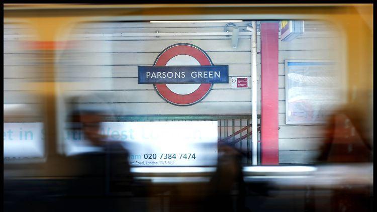 Bei dem U-Bahn-Anschlag von London wurden 30 Menschen verletzt.