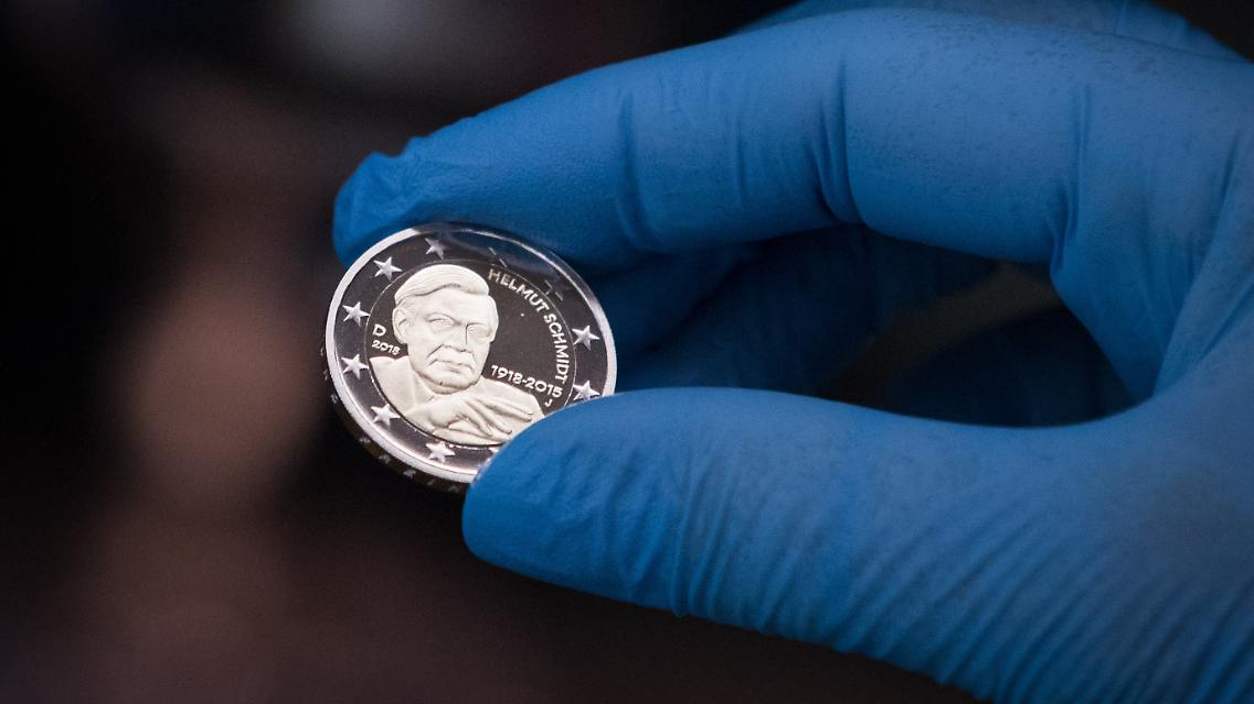 Der Tag Helmut Schmidt Münze Kommt Im Januar N Tvde
