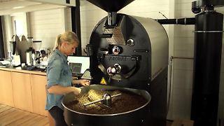 Das Geschäft mit dem Kaffee