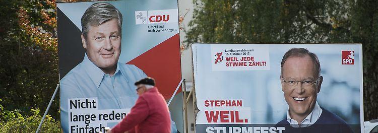 Thema: Landtagswahlen Niedersachsen