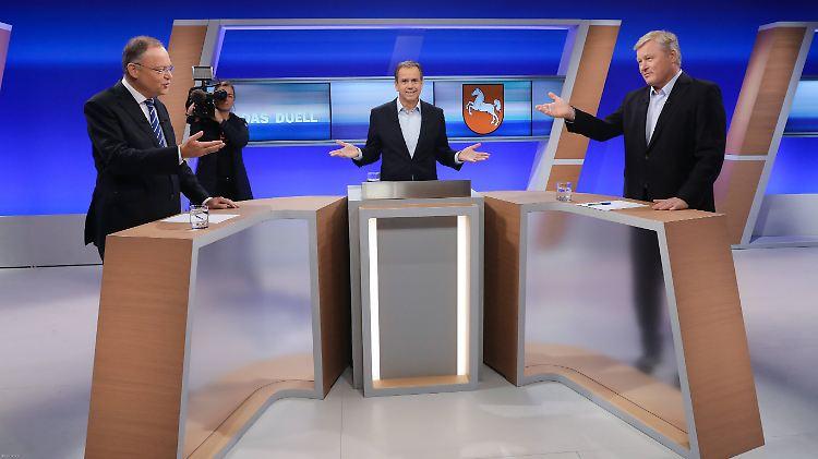landtagswahl in niedersachsen ein tv duell das seinen namen verdient n. Black Bedroom Furniture Sets. Home Design Ideas