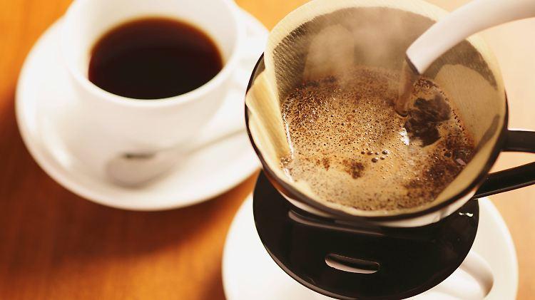 Filterkaffee gilt als preiswert und leicht zuzubereiten.