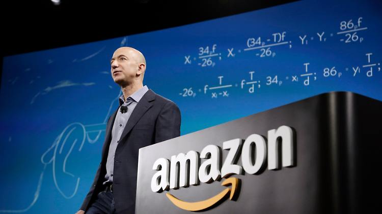 Zehn Milliarden An Einem Tag Amazon Chef Ist Reichster Mann Der
