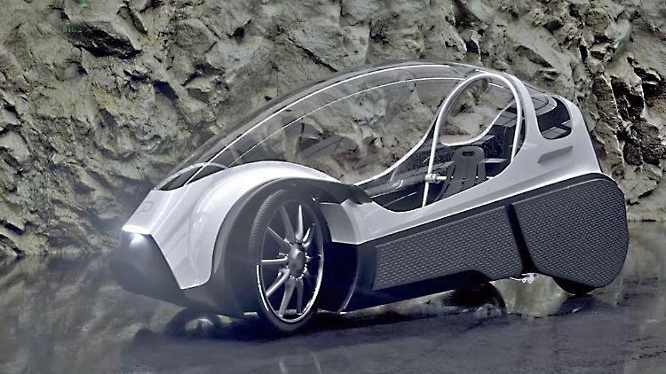 jetzt kommt das kabinen pedelec podbike fast wie ein e auto n. Black Bedroom Furniture Sets. Home Design Ideas