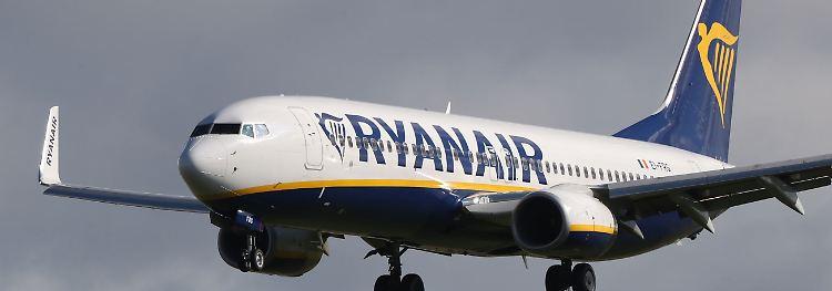 Ryanair Abflüge