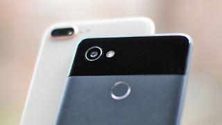 Google Pixel 2 und Apple iPhone 8 Plus