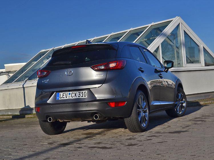 Der Kann Noch Auf Allen Vieren Mazda Cx 3 Besser Ohne Turbo N
