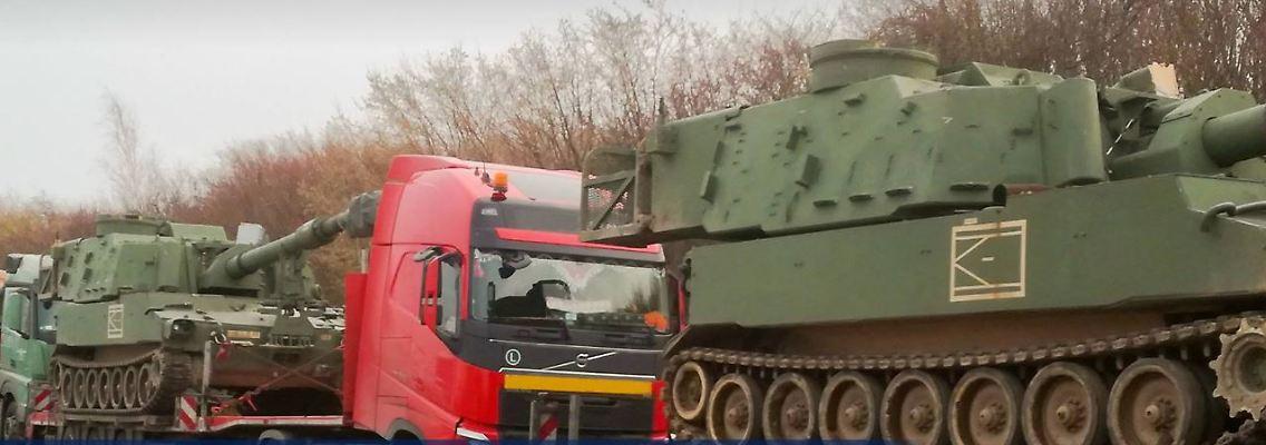 Polizei Sachsen Panzer