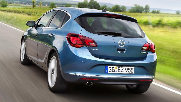 Gebraucht Recht Zuverlassig Opel Astra J Nur Eine Kleine Schwache N Tv De