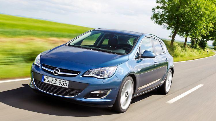 Gebraucht Recht Zuverlässig Opel Astra J Nur Eine Kleine Schwäche