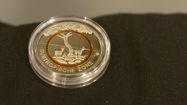 Subtropische Zone Live Das Ist Die Neue Fünf Euro Münze N Tvde