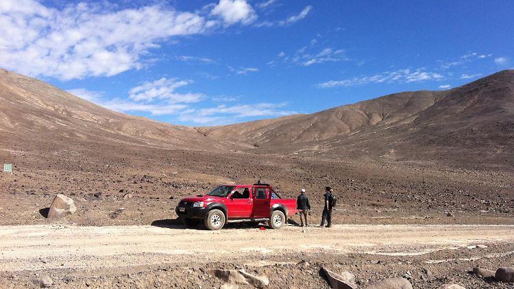 Eine der Lokalitäten, an denen Proben genommen wurden - Lomas Bayas im Zentrum der Atacama-Wüste.JPG