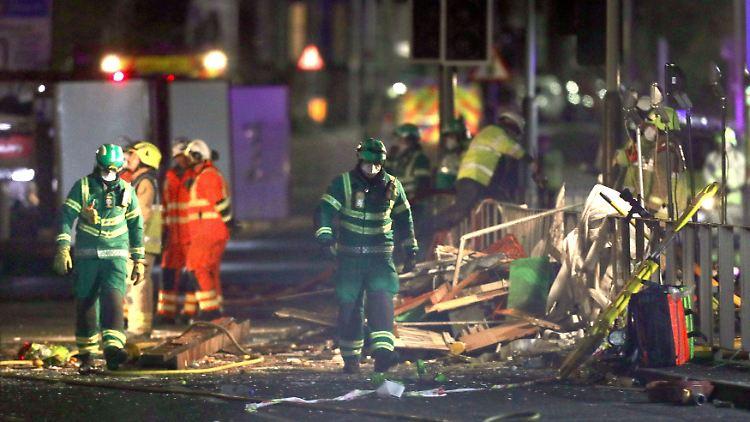 Bei der schweren Explosion sind vier Menschen ums Leben gekommen.
