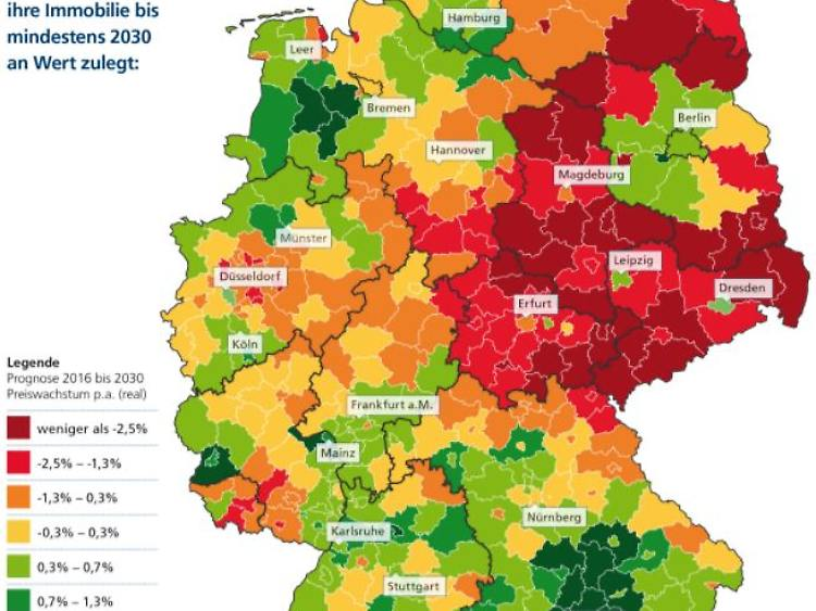Prognose Bis 2030 Hier Steigen Die Immobilienpreise Weiter N Tv De