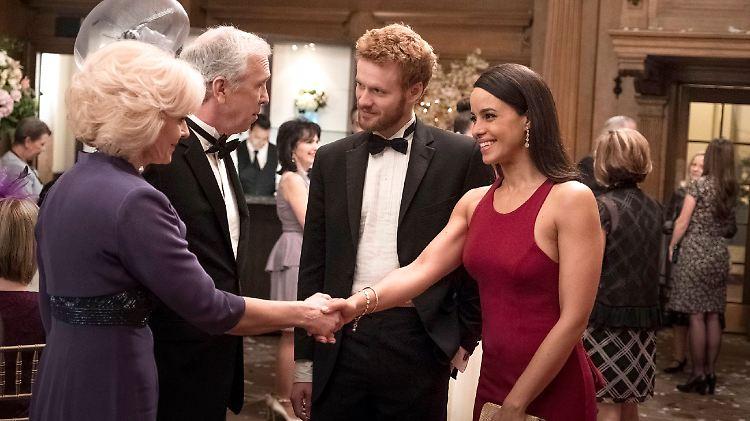 Meghan Markle scherzt über Kennenlernen mit Prinz Harry