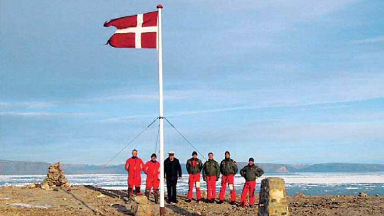 Dänemark Und Kanada Grenzverlauf