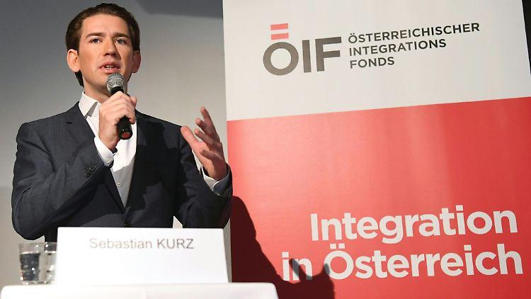 Österreichs Regierung unter Führung von Sebastian Kurz hat einen harten Kurs in der Einwanderungspolitik eingeschlagen.