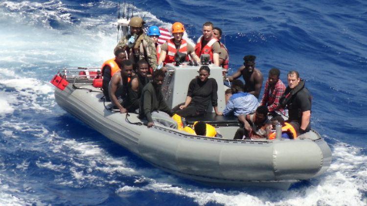 40 Überlebende und 12 Leichen hat die