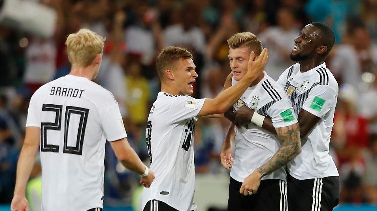 wann kommt deutschland weiter